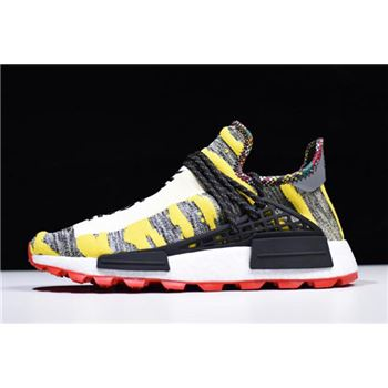 2018 Pharrell x Adidas Afro NMD Hu Core Black/Red BB9527
