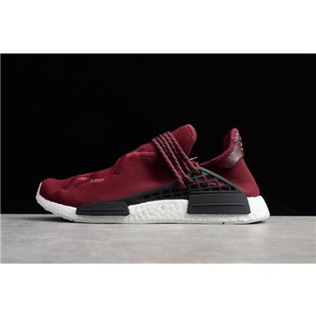 "Pharrell x Adidas NMD Human Race ""Noble Crimson"" BB0617"
