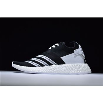 White Mountaineering x Adidas NMD R2 Primeknit Core Black/Footwear White CG3648