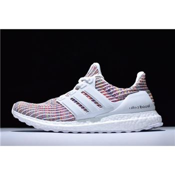 New Adidas Ultra Boost 4.0 White/Multi-Color BB8698