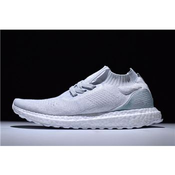 Cheap Parley x Adidas Ultra Boost Mid White/Light Blue