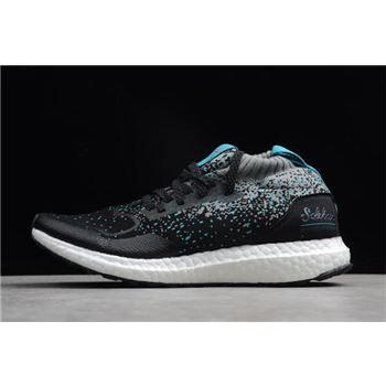 Solebox x Packer Shoes x Ultra Boost Mid Core Black Energy Blue CM7882