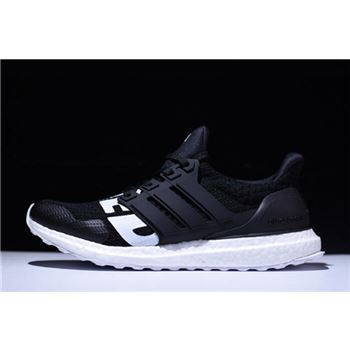 Undefeated x Adidas Ultra Boost Black/White B22480 On Sale