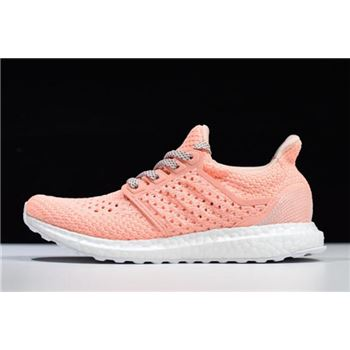 Women's Adidas Ultra Boost V-DAY UB4.0 Pink/White EE8909