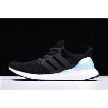 "Adidas Ultra Boost 4.0 ""Iridescent"" Black/White AC8067"